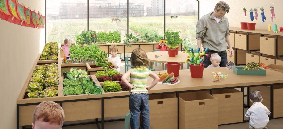 Gospodarstwo rolne w przedszkolu