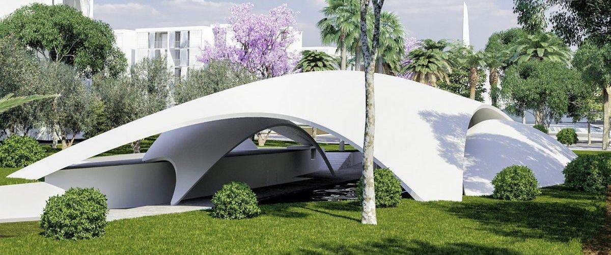 Organiczny basen napełniany deszczówką