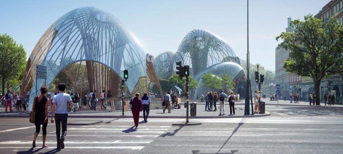 W Sztokholmie zasadzą całoroczny park pod szklaną kopułą