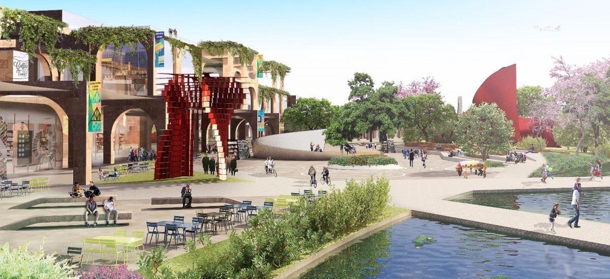 Miejsce, w którym będą testowane nowe pomysły na miasto