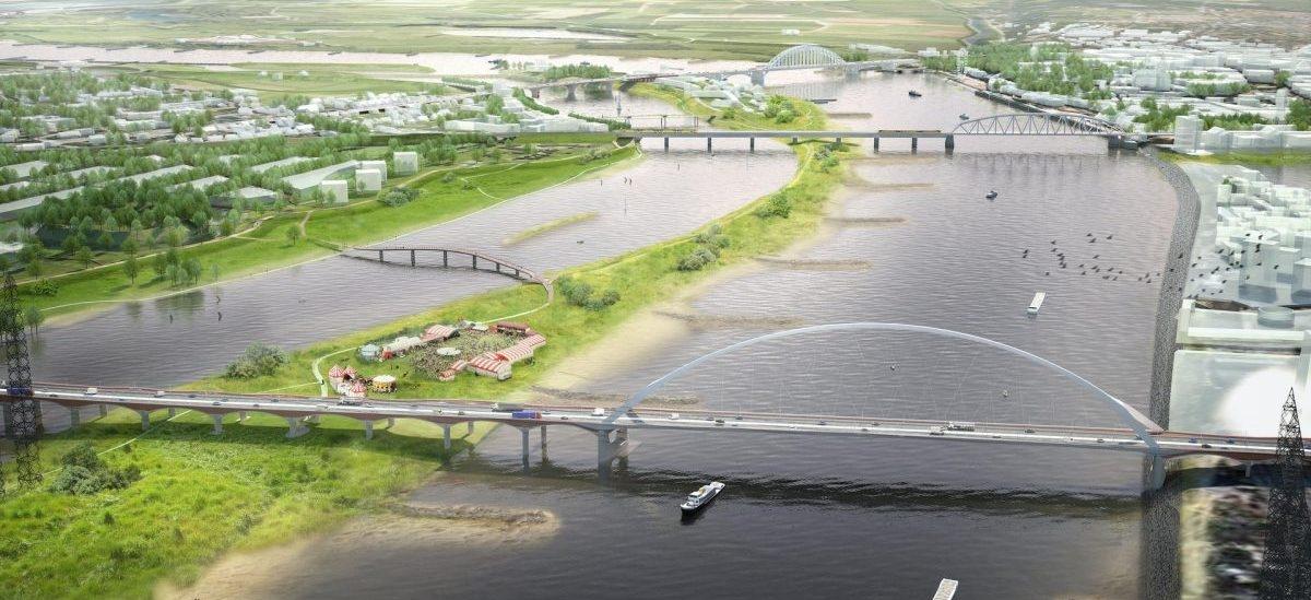 Z rzeki wyłoni się nowe centrum miasta