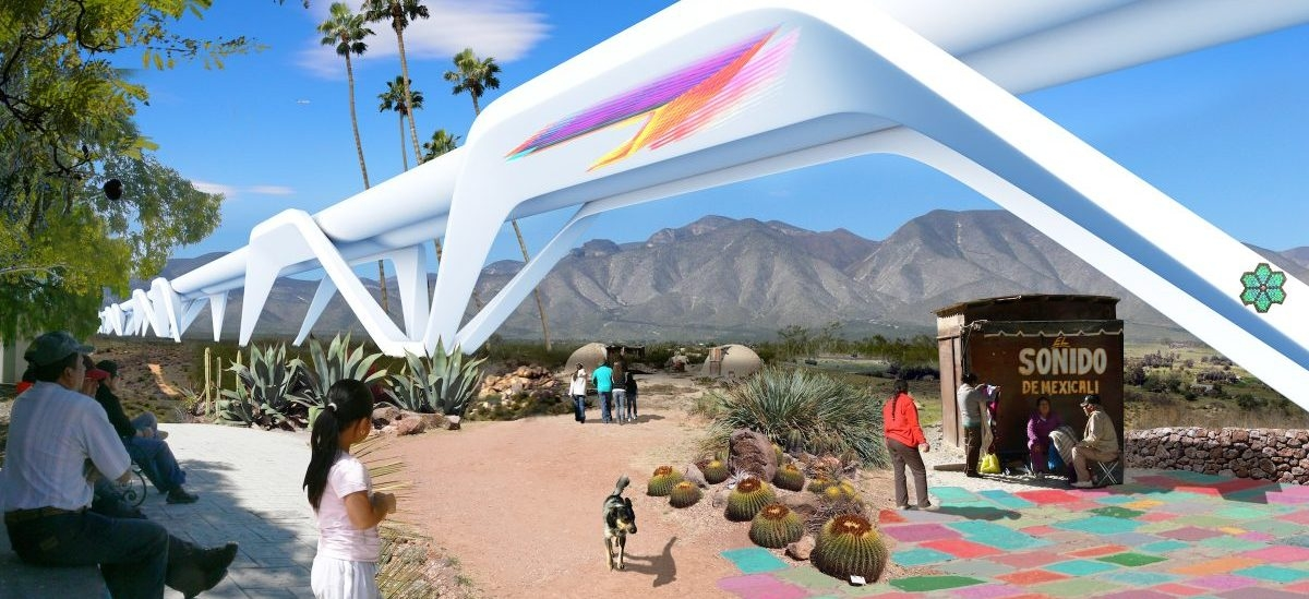 Zamiast muru hyperloop na granicy USA oraz Meksyku