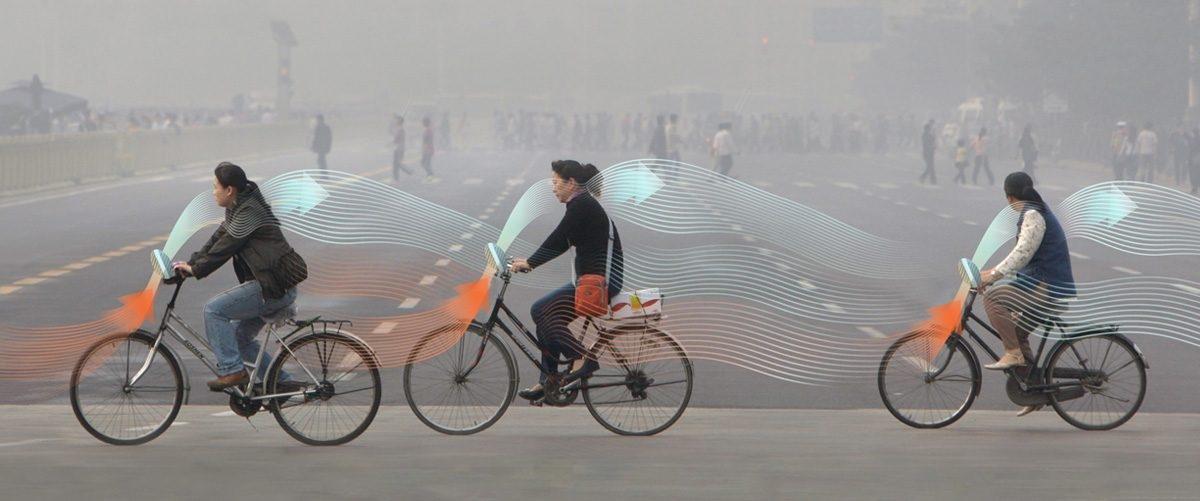 Rower będzie filtrował smog aby jazda po mieście była zdrowsza