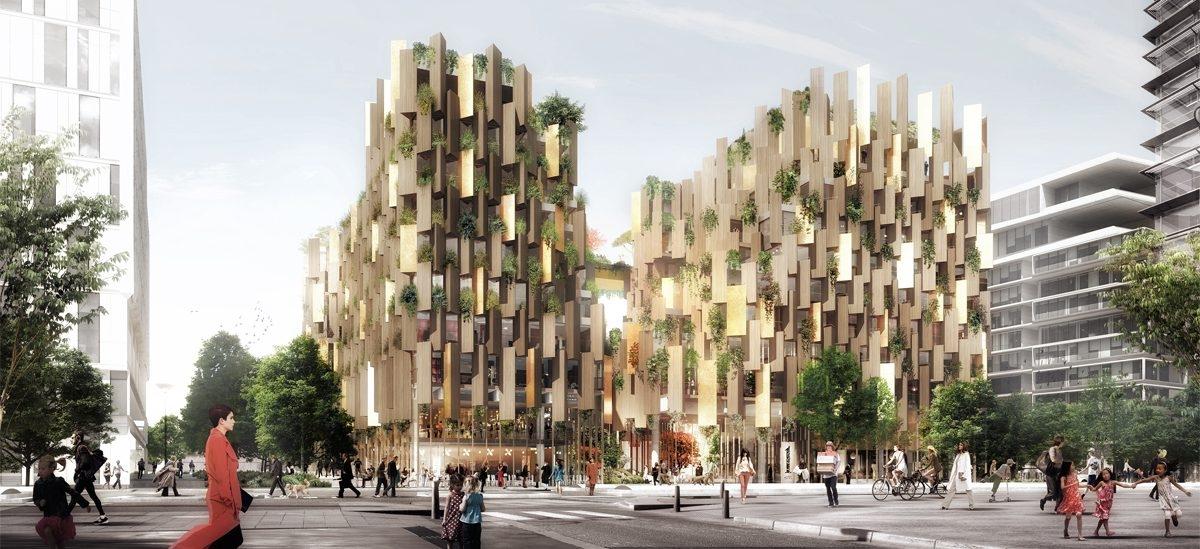 Paryż będzie miał drewniany hotel otwarty na całe miasto