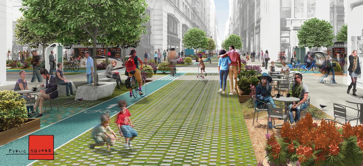 Nowojorska wizja, jak autonomiczne auta uprzątną ulice mieszkańcom