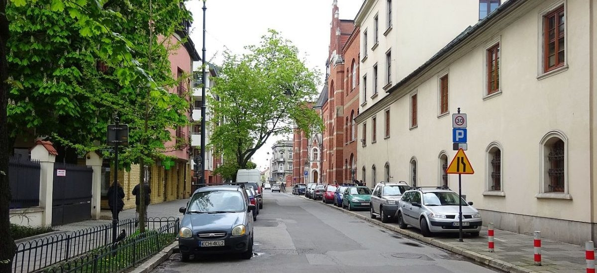 W Krakowie rośliny, zamiast miejsc parkingowych
