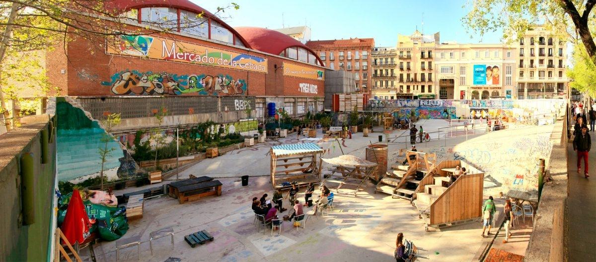 Madryt: miasto, gdzie mieszkańcy sami tworzą własną przestrzeń publiczną