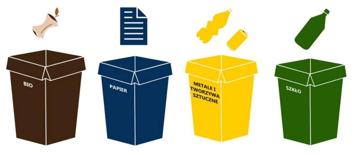 Nowe zasady segregacji śmieci: kartony jako plastik i zbieramy biomasę