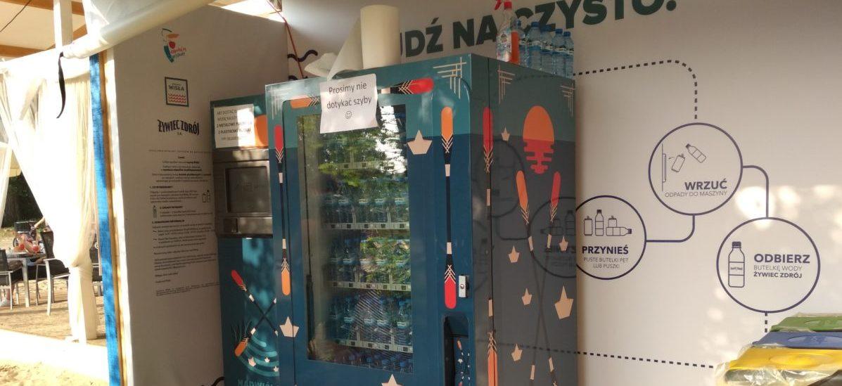 W maszynach nad Wisłą puste butelki można wymienić na pełne