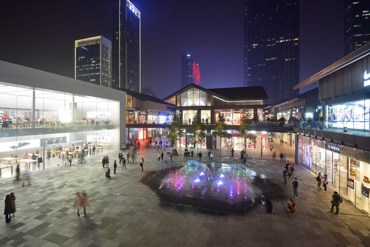 Centra handlowe lepiej wkomponowane w przestrzeń