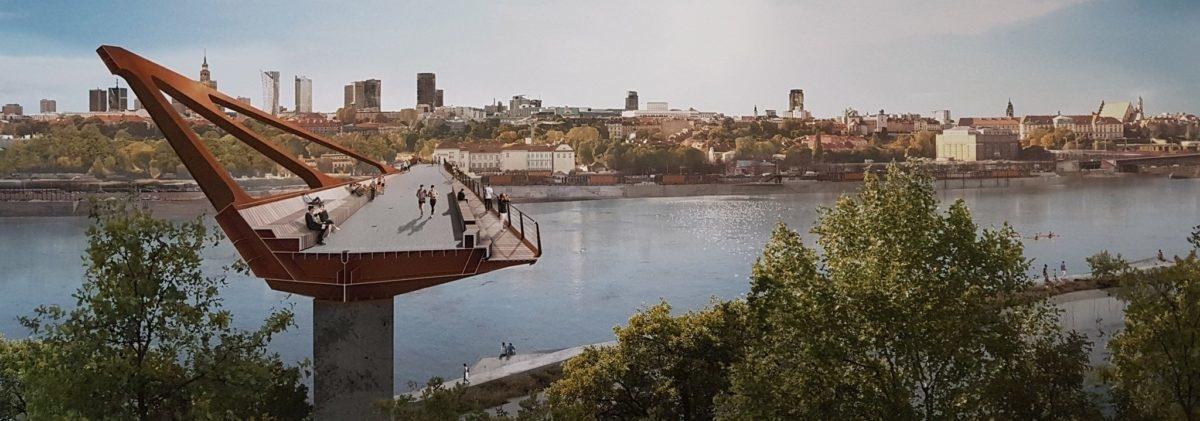 Zrobiła się moda na mosty dla pieszych i rowerów, Warszawa jest w trendzie