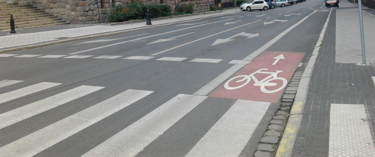 Krakowscy rowerzyści mają nowe kontrapasy