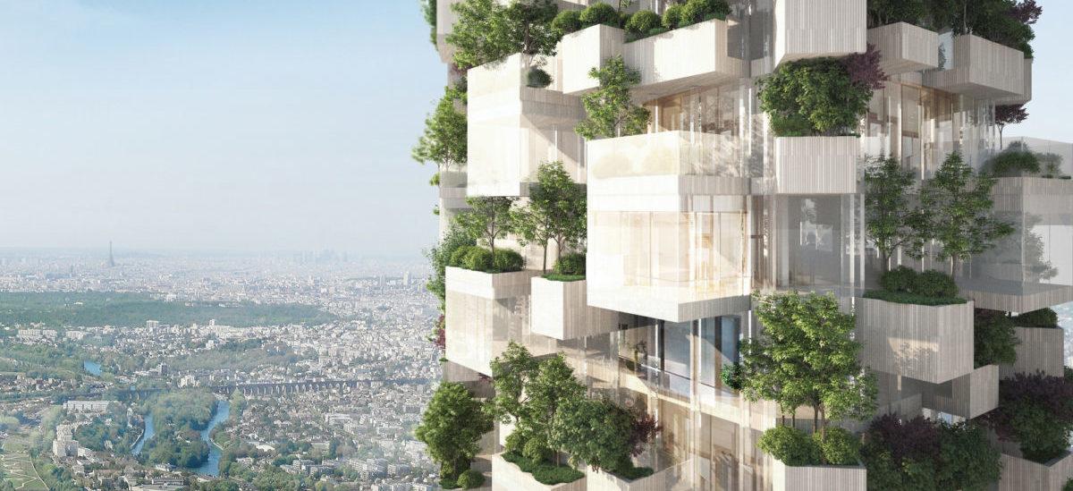 Hektar lasu wzniesie się pod Paryżem