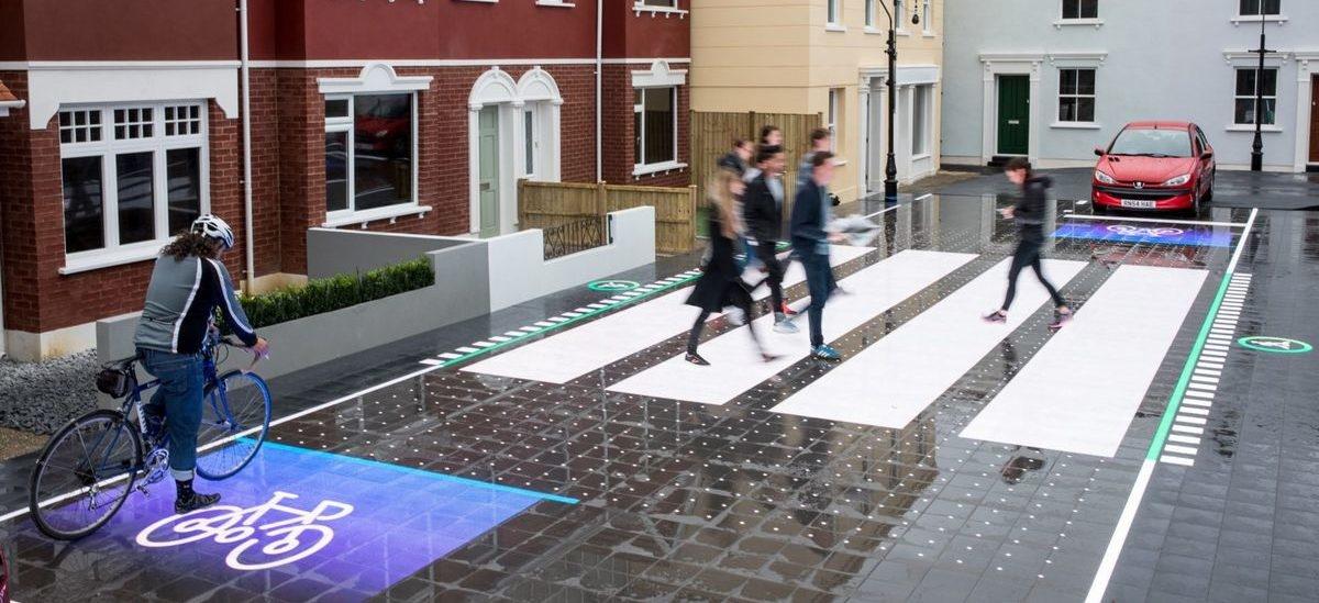 Interaktywne pasy zapewnią bezpieczeństwo i płynność ruchu pieszych