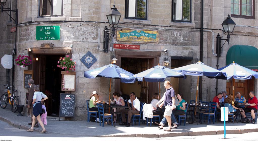 Montreal staje się coraz bardziej europejski