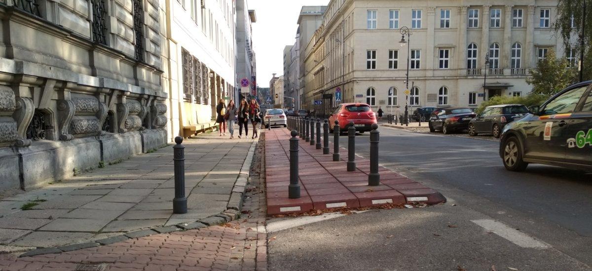 Przestrzeń na parklety bez szkody dla miejsc parkingowych