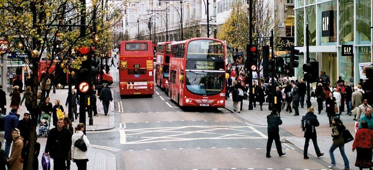 Oxford Street będzie dostępna tylko dla pieszych