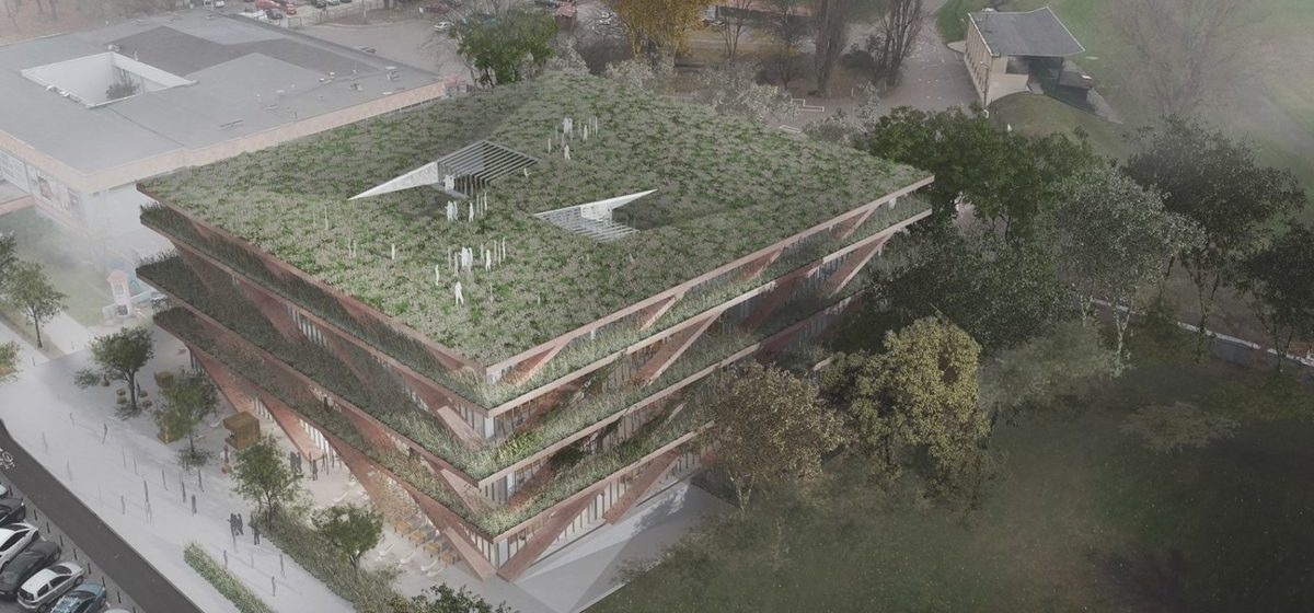 Nowy budynek SGH ma mieć na dachu ogród