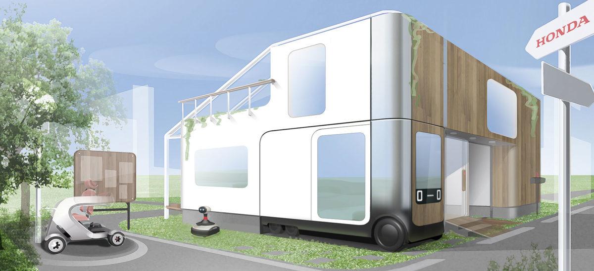 Dom przyszłości połączony z samochodem