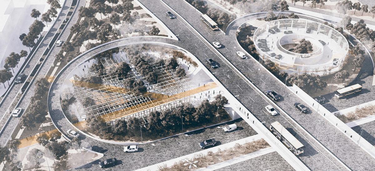 Pomysł na ożywienie przestrzeni pod wiaduktami warszawskich mostów