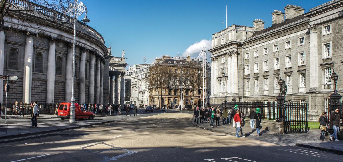 Dublin inwestuje w tramwaje i przestrzeń dla pieszych