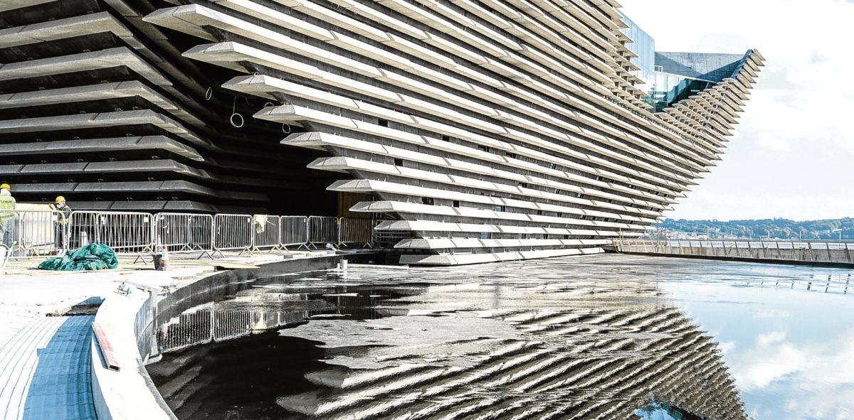 Nowe muzeum designu w Szkocji liczy na efekt Bilbao