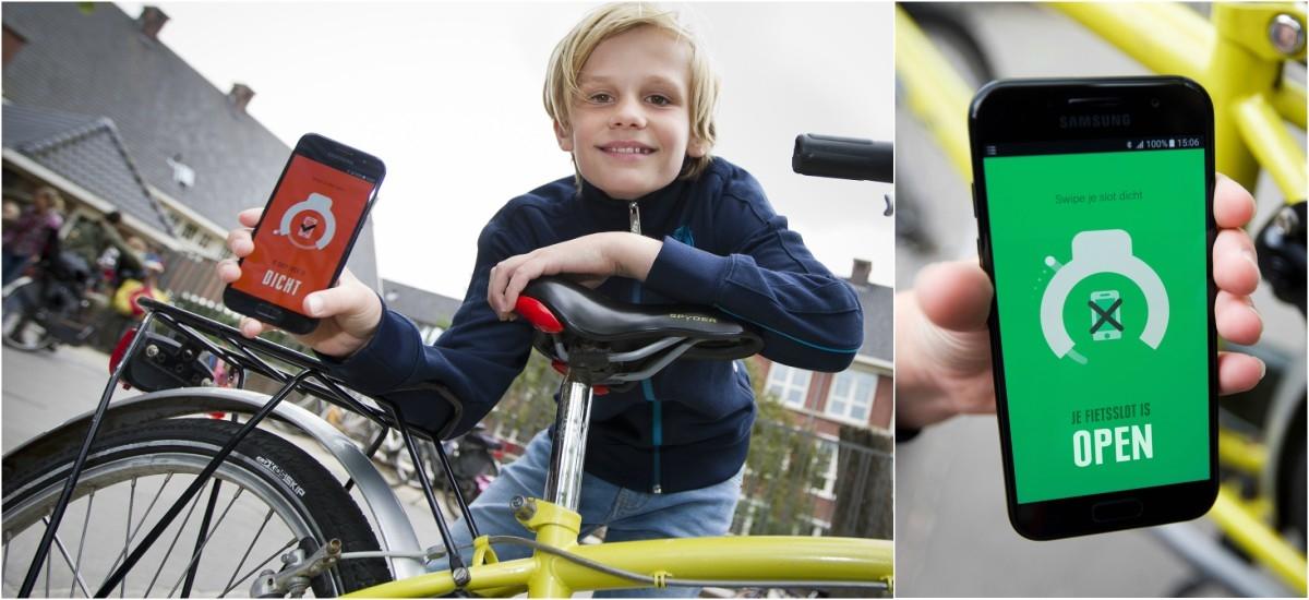 Zamek do roweru, który zablokuje telefon w czasie jazdy. Tak dla bezpieczeństwa
