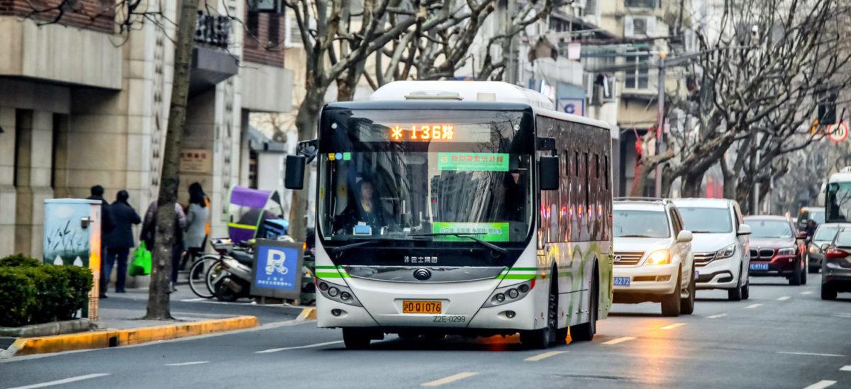99 proc. elektrycznych autobusów jeździ w Chinach