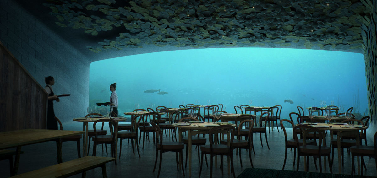 Ruszyła budowa pierwszej podwodnej restauracji w Europie
