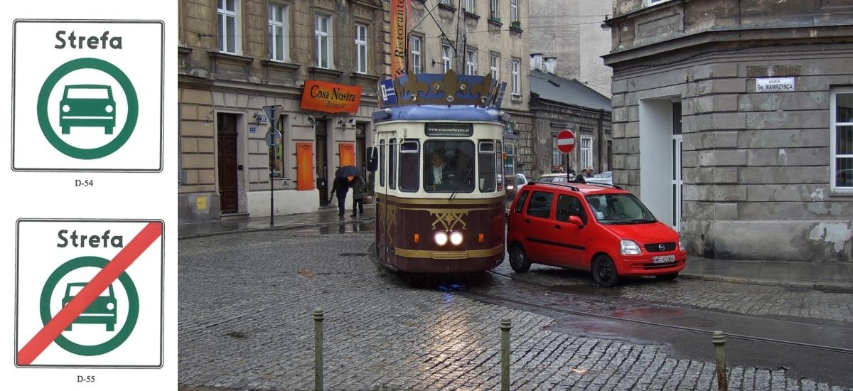 Na krakowski Kazimierz nie wjadą już samochody spalinowe