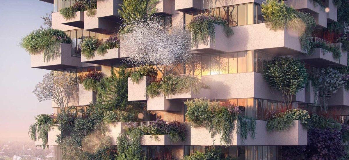 Domy obsadzone drzewami są nie tylko dla bogatych