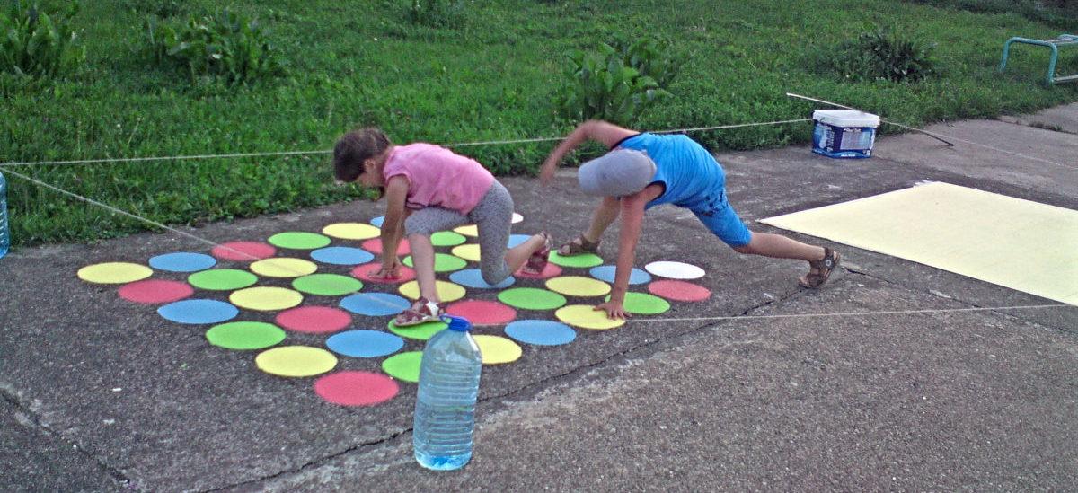 Świetna zabawa na gocławskich chodnikach