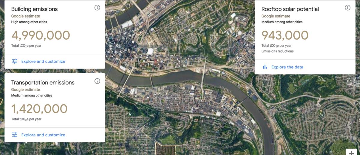 Na Google Maps będzie można zobaczyć ile emitujemy CO2