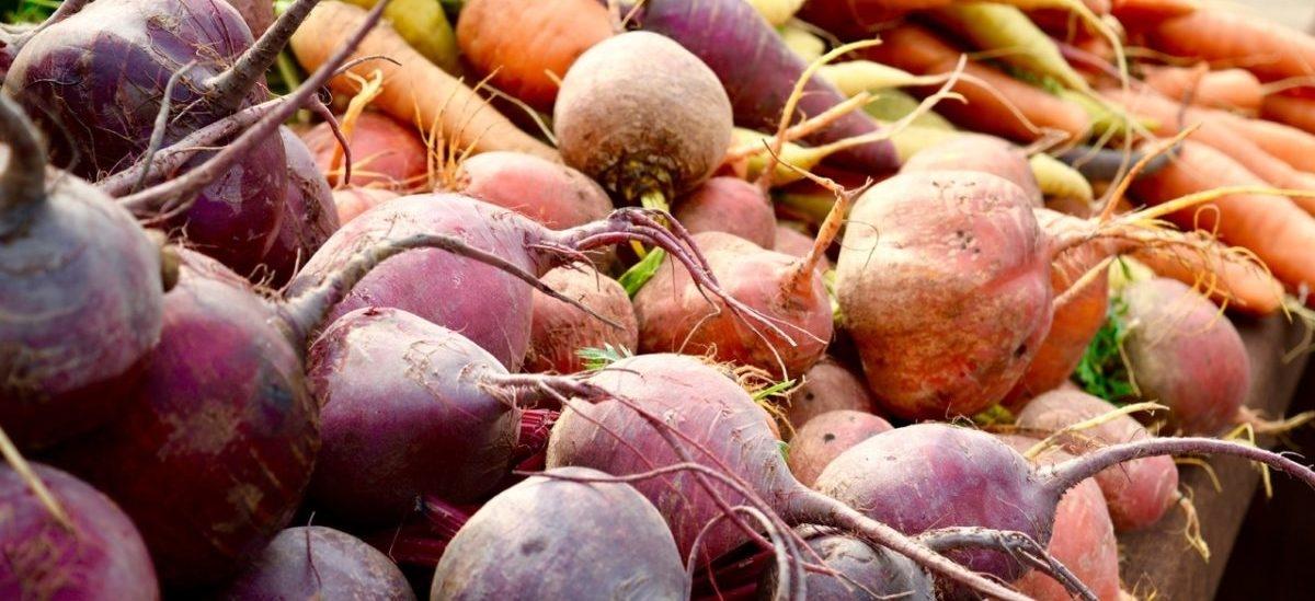 Fundamenty z warzywami