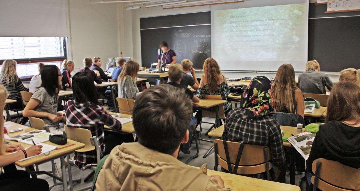 Finowie aranżują przestrzeń w szkole tak, by dzieci lepiej się w niej czuły