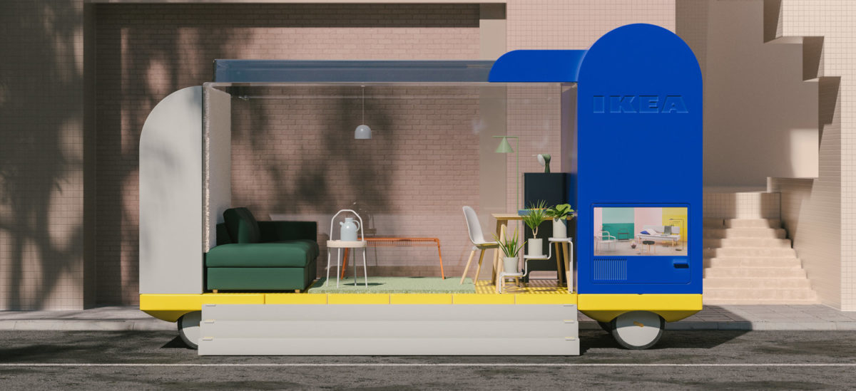 IKEA chce meblować autonomiczne samochody