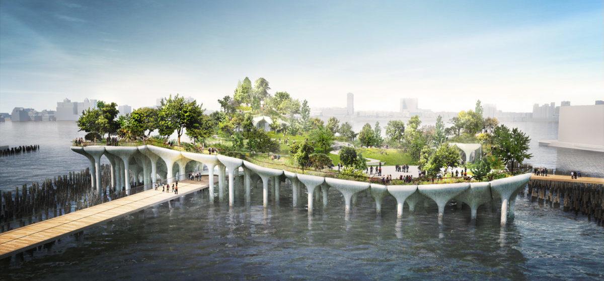 Na Manhattanie ruszyła budowa pierwszego pływającego parku