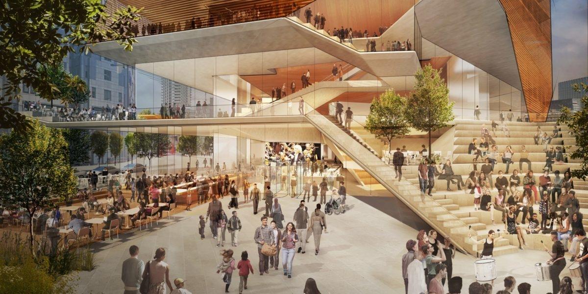 Londyn budując nowa salę koncertową liczy na efekt Tate Modern
