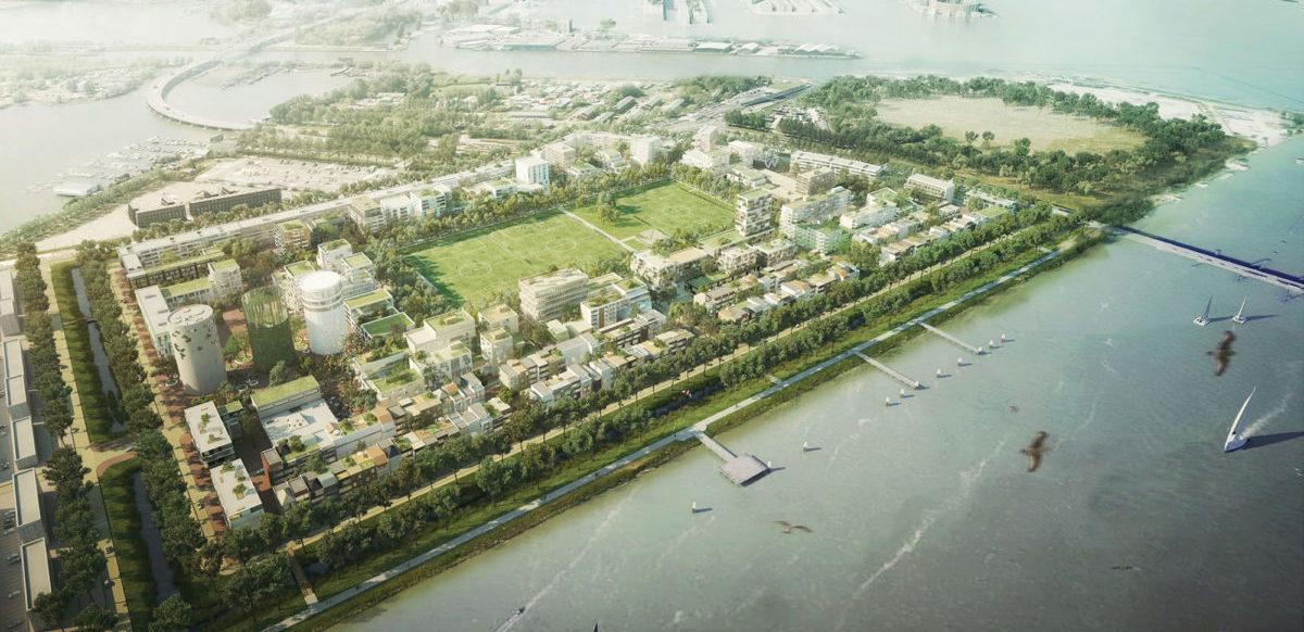 """Na sztucznej wyspie nieopodal Amsterdamu powstaną """"komunalne"""" apartamentowce"""