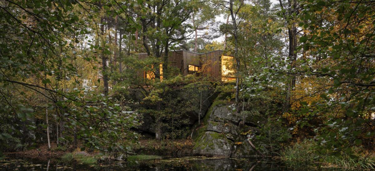 Leśne kabiny dla podreperowania zdrowia