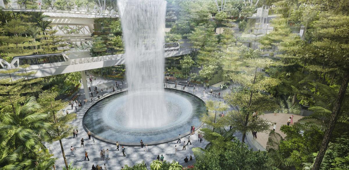 W Singapurze otwierają park zbudowany na środku lotniska