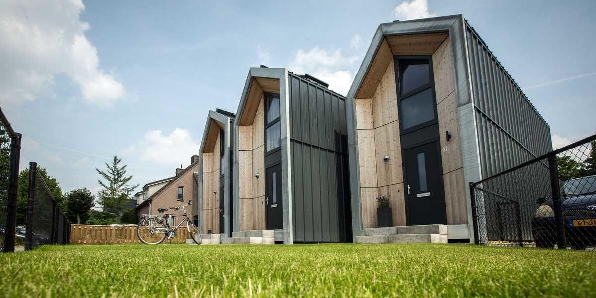 Modułowe domy mają pomóc rozwiązać kryzys mieszkaniowy w Holandii