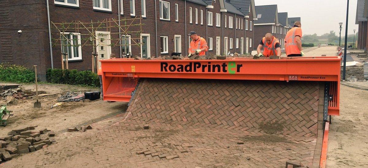 Maszyna do drukowania dróg i chodników
