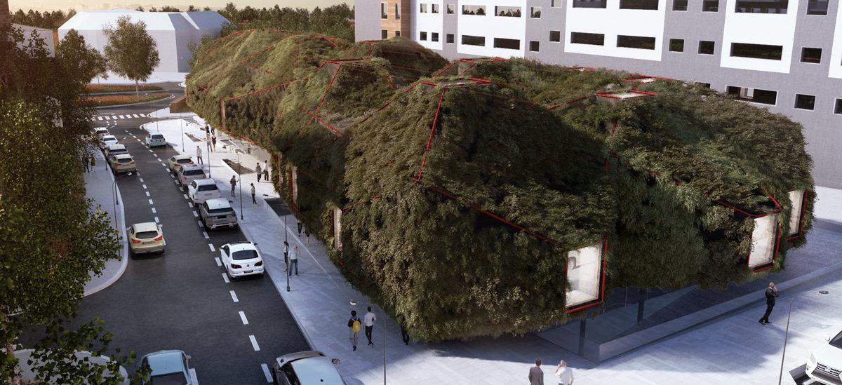 W Madrycie powstanie biblioteka otulona roślinami