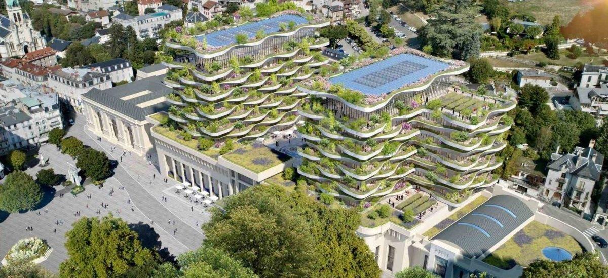 Coraz szybciej wyrastają budynki obsadzone roślinami