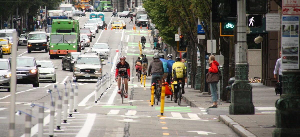 Rowerzyści wybierają dobrze zabezpieczone drogi