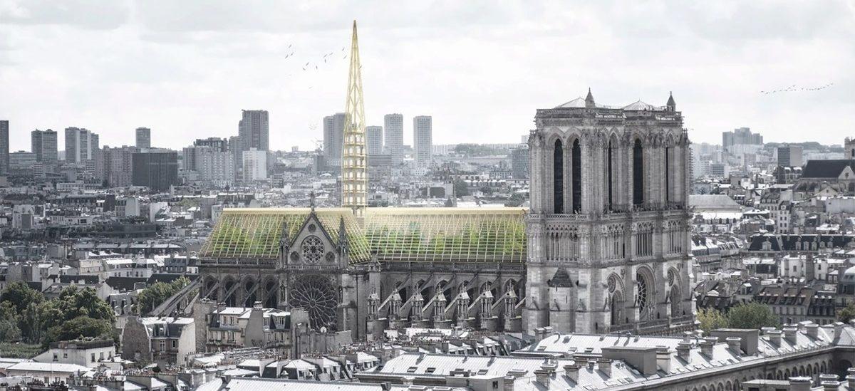 Katedra z ogrodem na poddaszu