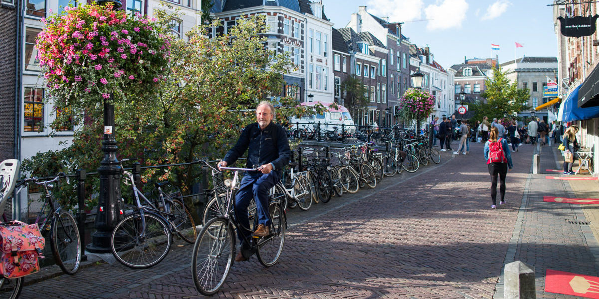 Miasto, w którym rządzą rowery