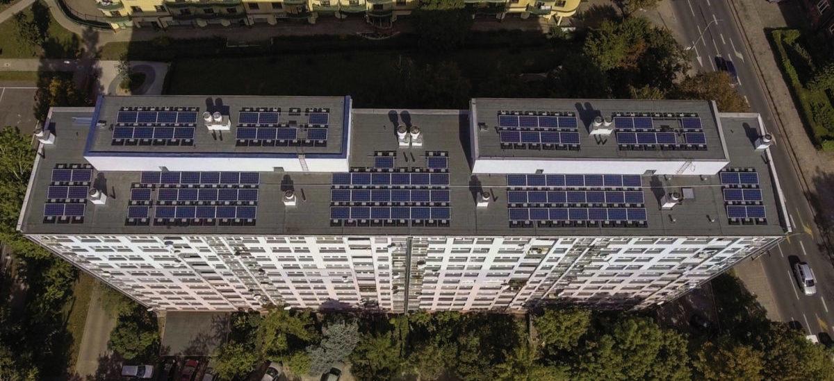 Osiedla mieszkaniowe poszły w energie słoneczną