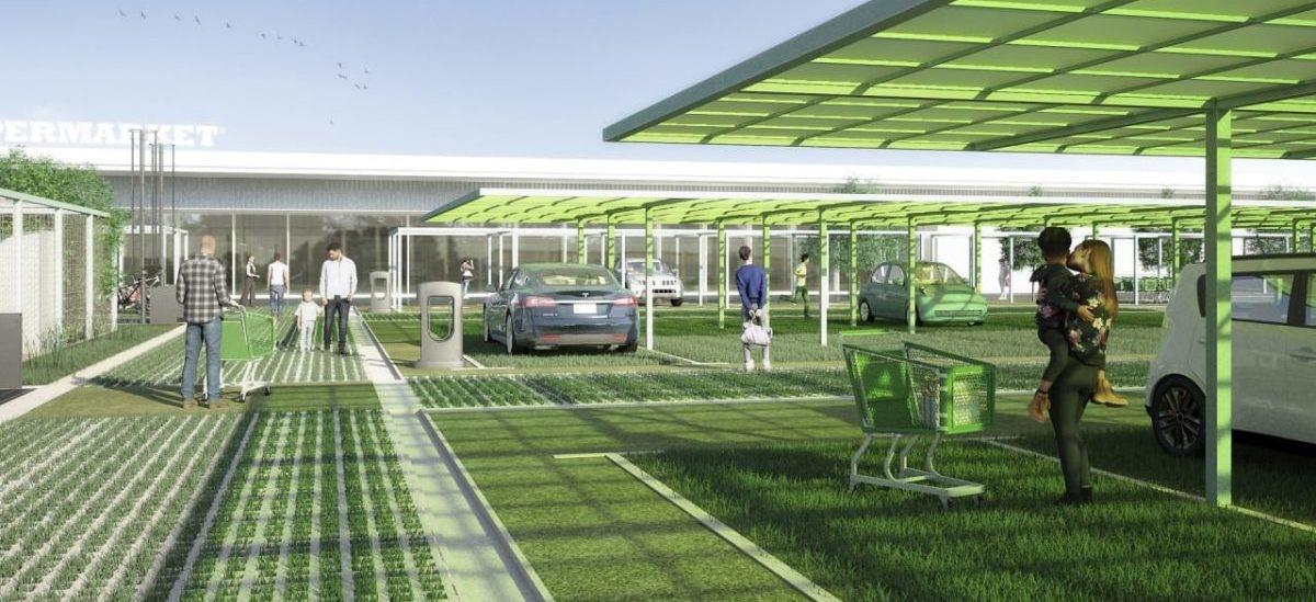 Farmy miejskie w miejsce hipermarketowych parkingów